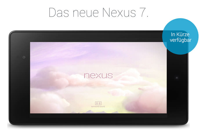 Nexus 7 mit Retina-Auflösung